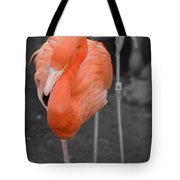 Peaceful Flamingo Tote Bag