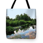 Peaceful Garden Tote Bag