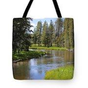 Peaceful Mountain Stream Tote Bag