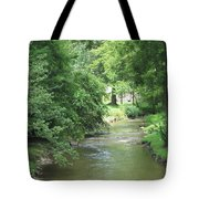 Peaceful Mountain Stream Tote Bag