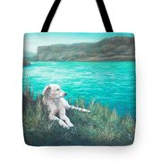 Peaceful Place At The Cove Palisades Tote Bag