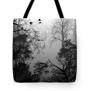 Peaceful Shades Of Gray Tote Bag