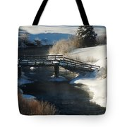 Peaceful Winter Day Tote Bag