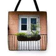 Peach Balcony Tote Bag