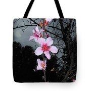Peach Blooms Tote Bag