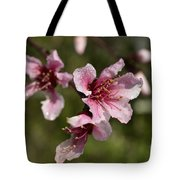 Peach Blossom Clusters Tote Bag