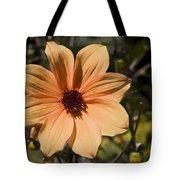 Peach Flower Tote Bag