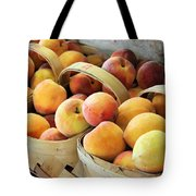 Peaches Tote Bag