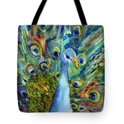 Peacock Party Tote Bag