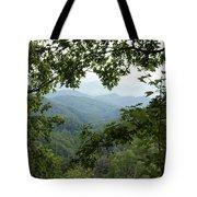 Peak At The Mountains Tote Bag