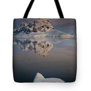 Peak On Wiencke Island Antarctic Tote Bag by Colin Monteath
