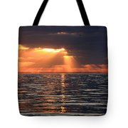 Peaking Through The Clouds Tote Bag