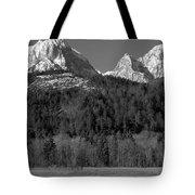 Peaks Near Schwangau In The Bavarian Alps Tote Bag