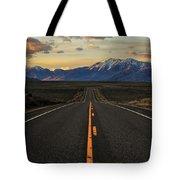 Peaks To Craters Highway Tote Bag