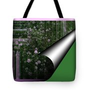 Pealing Wallpaper Tote Bag