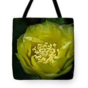 Pear Cactus Flower Tote Bag