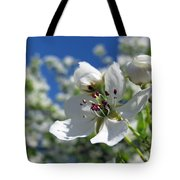 Pear In Bloom Tote Bag
