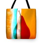 Pear On Ice 01 Tote Bag