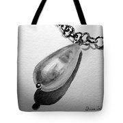 Pearl Necklace Tote Bag