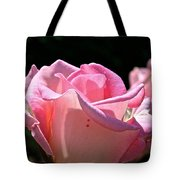 Pearl Pink Petals Tote Bag
