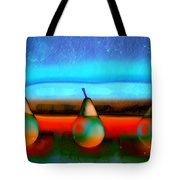 Pears On Ice 01 Tote Bag