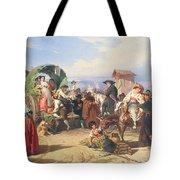 Peasants Of The Campagna Tote Bag