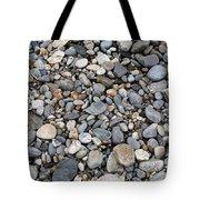 Pebble Beach Rocks, Maine Tote Bag