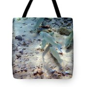 Pebbles And Fins Tote Bag