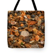 Pebbles And Stones On The Beach Tote Bag