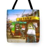 Pedal Traffic Tote Bag