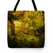 Pedestrians On The Move No. Ol5 Tote Bag