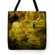 Pedestrians On The Move No. Ol7 Tote Bag