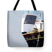 Peek-a-boat Tote Bag