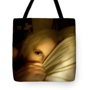 Peekaboo By Candlelight Tote Bag