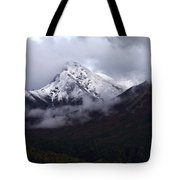 Peeking From The Clouds Tote Bag