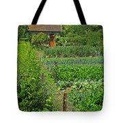 Peeking Into A Garden Tote Bag