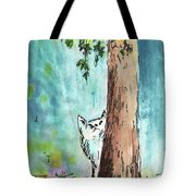 Peeping Tom Tote Bag