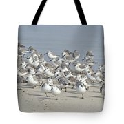 Peeps At The Beach #1 Tote Bag