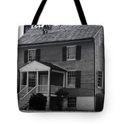 Peers House Appomattox County Court House Virginia Tote Bag by Teresa Mucha