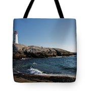 Peggy's Cove Light Tote Bag