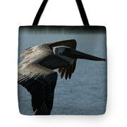 Pelican Fly By Tote Bag