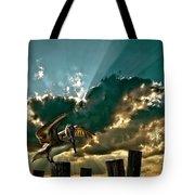 Pelican Sky Tote Bag