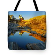 Pemaquid Point Reflection 2 Tote Bag