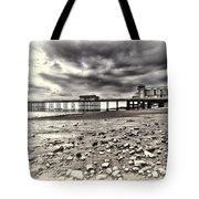 Penarth Pier Cream Tote Bag