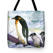 Penguin March Tote Bag