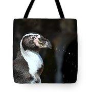Penguin Splash Tote Bag