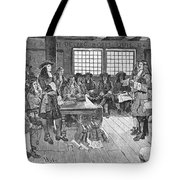 Penn And Colonists, 1682 Tote Bag