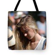 Pensive Girl Tote Bag