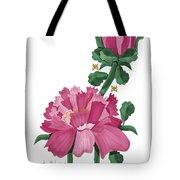 Peony In Pink Tote Bag by Anne Norskog