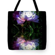 Peony Reflected Tote Bag